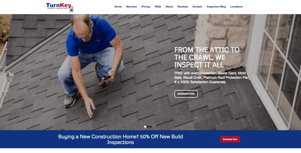 Turnkey Home Inspections Website