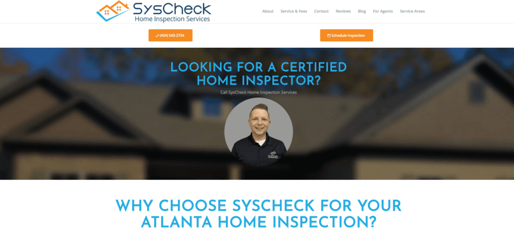 Home Inspection Websites - SysCheck
