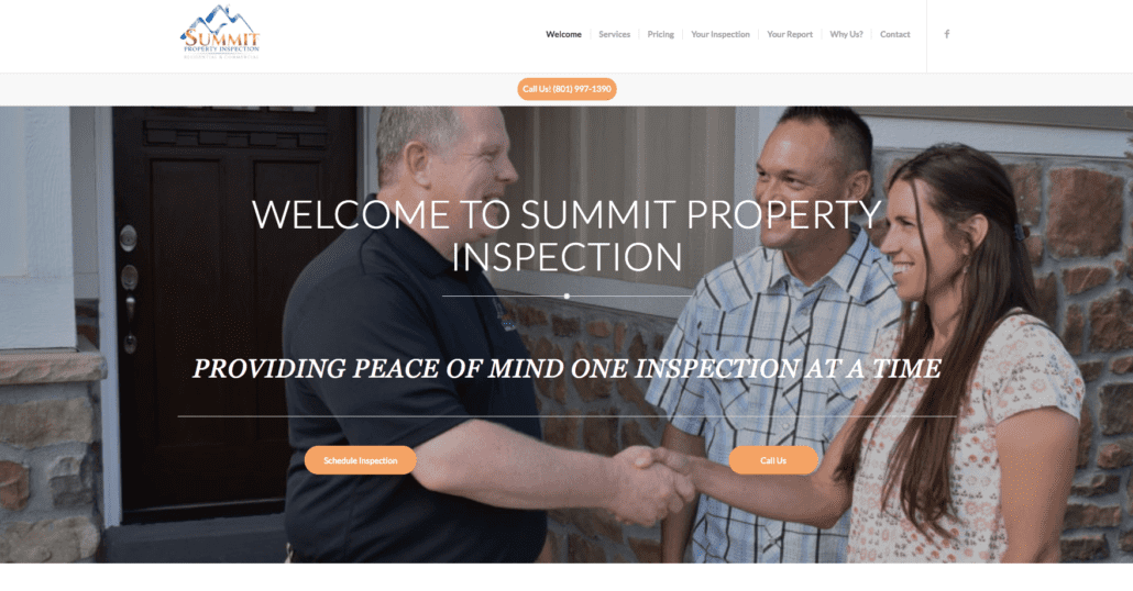 Summit Property Inspections - Website