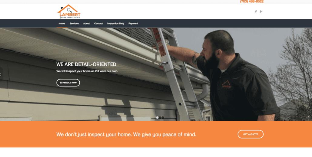 Lambert Home Inspections - Home Inspector Websites