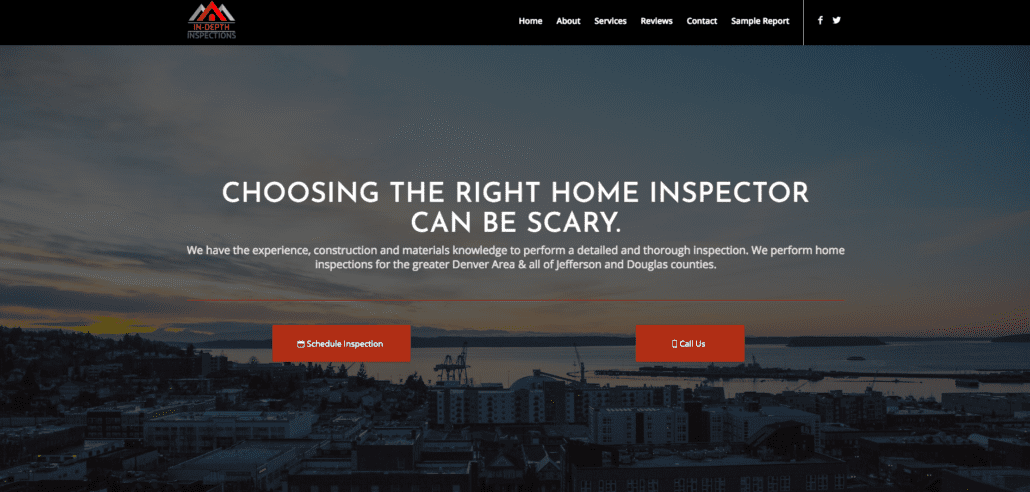 Sample Home Inspector Site