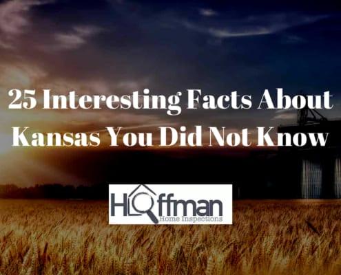Kansas Facts from Hoffman Home Inspection - Wichita, KS