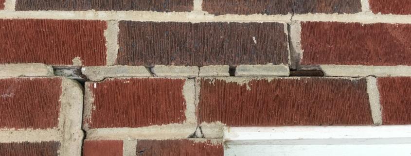 Spalling on Brick Veneer