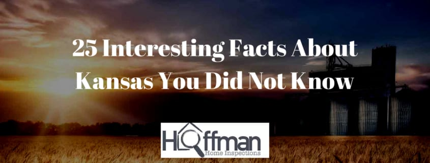 Kansas Facts from Hoffman Home Inspection - Wichita, KS