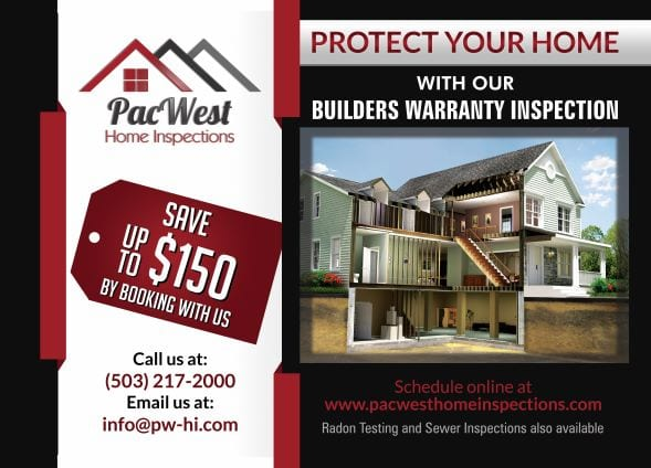 pacwest builders warranty inspection
